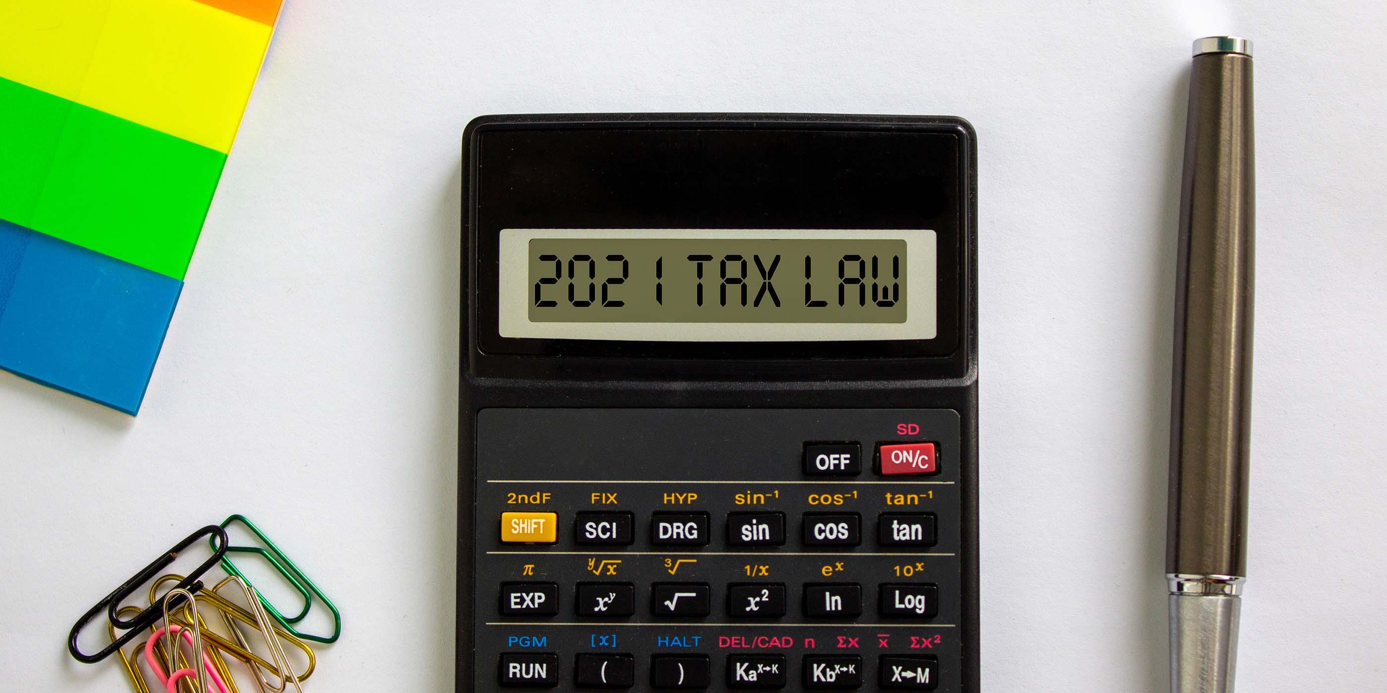 2021 Tax Law